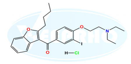 Amiodarone EP Impurity C (HCl salt)
