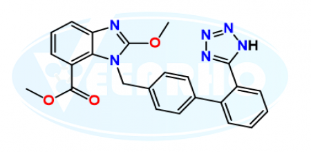 Candesartan Methyl Ester Methoxy Analog