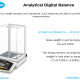 Analytical balance and working range
