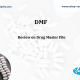 Drug master file DMF