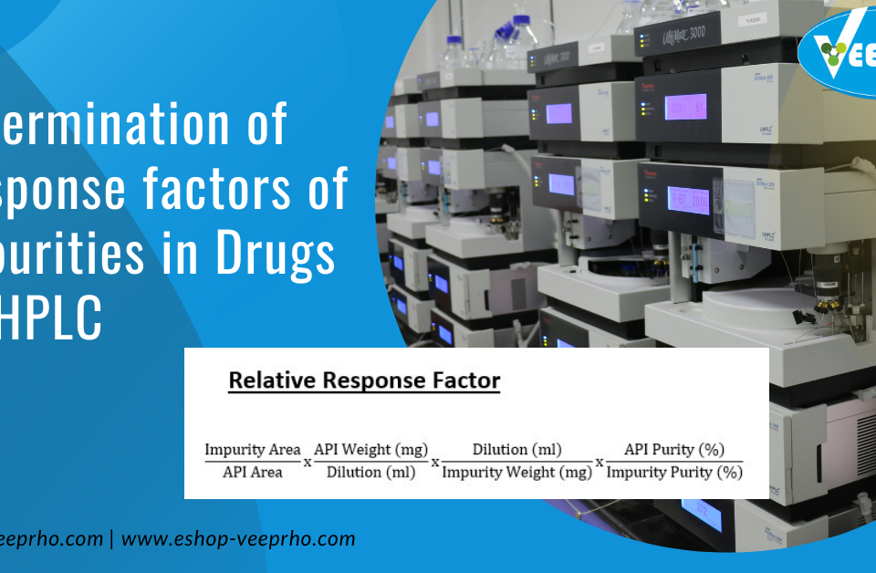 Determination of Response factors of Impurities in Drugs by HPLC